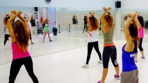 cardio dance inbal haim